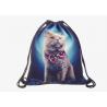 China Custom Printed Drawstring Bag Backpack , Design Your Own Drawstring Bag wholesale