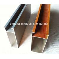China Multifunctional Curtain Wall Aluminium Profiles For Decoration Rectangle Shape wholesale
