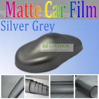 China China Derek silver grey matt pvc car body sticker for car body wrapping and decoration on sale