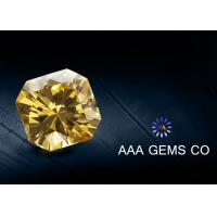 China VVS1 Classic Created Fancy Moissanite 3 Carat In Yellow Color wholesale