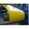 China JIS G3312 / GB / T 12754 / DX51D + Z  PPGI Zinc Prepainted Color  Coated  Steel Coil wholesale