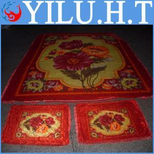China cheap thick animal printed velvet fabric wholesale