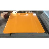 China Hot Galvanized Carbon Steel Floor Weighing Scales 1.5x1.5m 3t / 5t Single Deck wholesale