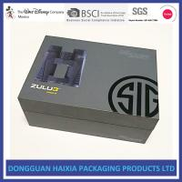 China Large Capacity Rigid Gift Boxes Light Weight Packing Boxes For Telescope wholesale