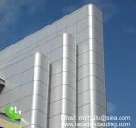 China Metal Aluminum Solid Panel Wall Facade Cladding exterior weatherproof wholesale