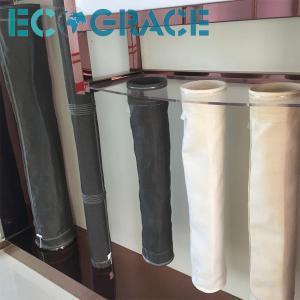 China Pulse Jet / Reverse Air Filter Fiberglass Filter Bag PTFE membrane wholesale