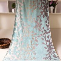 China Decorative Jacquard Bath Towel Plain Woven wholesale