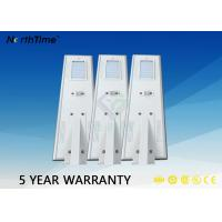 China 6000K 18 Volt 40W Street Light With Solar Panel Aluminum Alloy Material wholesale