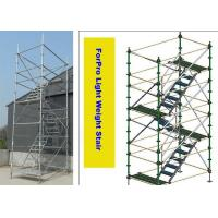 China High Building Projects Stair Scaffolding System on sale