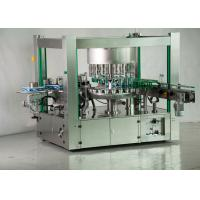 China One Side Ropp Automated Labeling Machine , Hot Melt Glue Bottle Label Applicator on sale