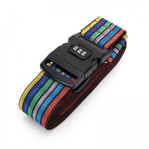 China Cross Travel Suitcase Strap Safe Belt Strap Luggage Strap Luggage belt wholesale