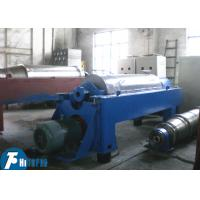 China Horizontal Spiral Discharge Industrial Decanter Centrifuge With Continuous Deposition wholesale