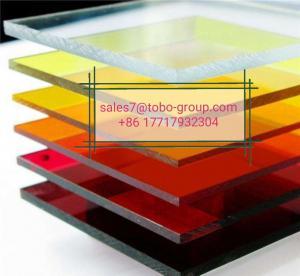 China 2mm 3mm 5mm 6mm 8mm Clear Acrylic Sheets Crystal PMMA Sheets Cut to Size wholesale