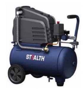 China 0302441X Quiet Portable Air Compressor Oil Free Pump 6 Gallon 24 Liters wholesale