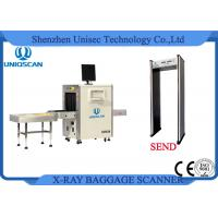 ISO / CE Certificated Airport Security Baggage Scanner Dual View 560*360mm Manufactures