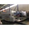 China Corrugated Carton Automatic Feeder Flexo Printer Slotter Die Cutter Gluer Bundler Machine wholesale