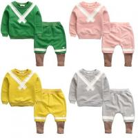 China High quality wholesale kids sweat suits children boutique clothing sets wholesale