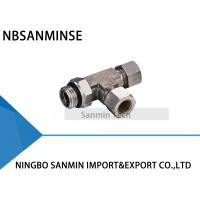 China KST Pneumatic Compression Fitting BSPT ( R ) Thread Pneumatic Tube Fittings wholesale