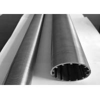 China Sand Control 2mm Stainless Steel Slot Pipe Abrasion Resistant ISO Listed wholesale