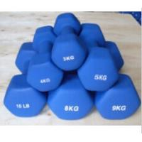 China Fixed Weight Hex Neoprene Coated Dumbbell wholesale