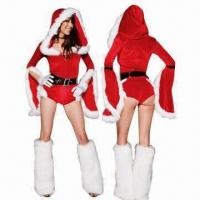 Quality Fancy Christmas Teddy Costume with Hood and Leg Warmer, Low MOQ, Fast Delivery for sale