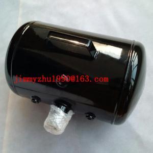 China Customized bead seater 5 gallon portable air tank black steel air reservoir wholesale