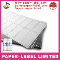 China Label Dimensions: 70mm x 38mm A4 labels wholesale