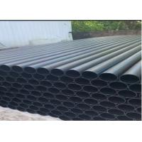 China 90MM X 4.5MM 1.6 Black Plastic Water Pipe / Agriculture Flexible Irrigation Pipe wholesale