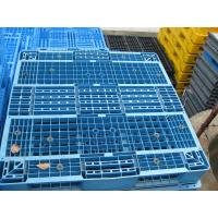 Reinforced plastic pallet produced in China, 1100x1100x150mm reversible shape Manufactures