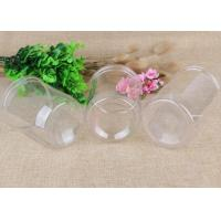 China Clear Plastic Cylinder Clear Cylinder Container Customized Accept Order on sale
