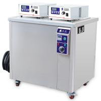 China CE appliance industrial Ultrasonic parts washer for cast iron , steel , brass , copper for hydraulic workshop on sale