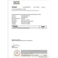 CX FLUID PRODUCTS MFG CO.,LIMITED Certifications