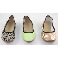 Quality Ballet dance shoes lady footwear, Women flat folding shoes made in China for sale