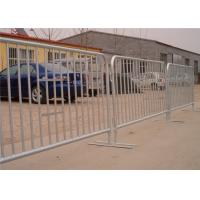 China Temporary Site Fencing Road Works Pedestrian Safety Crossing Barrier Mesh Fencing wholesale