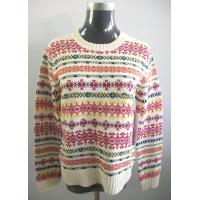 Buy cheap Women's fashion jacquard sweater from wholesalers