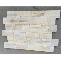 China Yellow Jade Quartzite S 18x35 Stone Panel,Natural Quartzite Culture Stone,Thin Stone Veneer for Wall wholesale