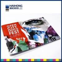 China Colorful vertical and horizontal format colour brochure printing services , 8 page brochure printing on sale