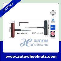 China Car Tire Repair Tool T - Handle With Rubber Cover , Needle Changeable wholesale