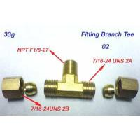 China BRASS COMPRESSION PIPE FITTINGS wholesale