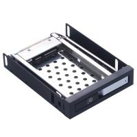China Unestech 2.5in Aluminum panel single bay SATA case 2.5 hard drive caddy tray 2.5in HDD/SSD Internal HDD Enclosure on sale