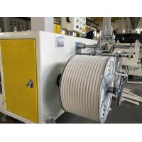 China PVC Single Wall Corrugated Pipe Extrusion Machine For 12mm- 32mm Diameter Pipes on sale