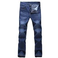 China New fashion man jeans big size straight trousers denim jeans wholesale