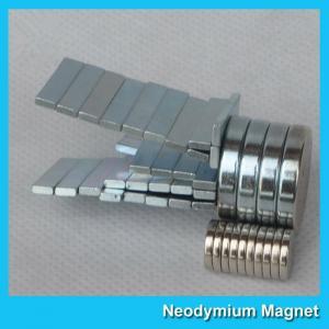 China N52 N42 N35 N30 Industrial Neodymium NdFeb Rare Earth Flat Disc Magnet 10X2mm wholesale