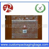 China Supermarket Fruit Packaging Bags / Reclosable Printed Slider Bags on sale