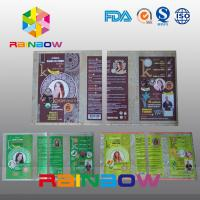China Customized PVC  Shrink Sleeve Labels For Plastic Bottle Packaging wholesale