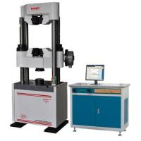 China Three Phases Computerised Universal Testing Machine With Hydraulic Clammping wholesale