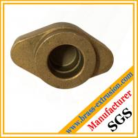China Non Ferrous Brass Forgings Brass Hot Forged hot pressed punched Components wholesale