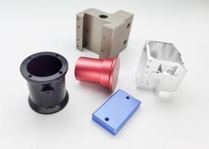 China Cnc Lathe 5 Axis Anodized Aluminum Parts Zinc Nickel Plating wholesale