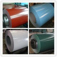 JIS G3312 Hot Dipped Prepainted Galvanized Steel Coil , Color Coated Steel Coil Manufactures