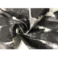 China China Style Black And White Graphic Print Fabric With Perfect High Permeability wholesale